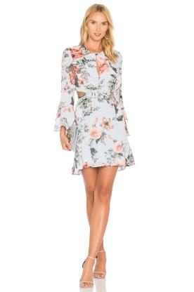 Floral-Bardot-Dress