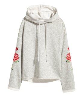 Sweatshirt-Floral