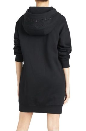 Burberry-Cardeiver-Sweatshirt-Dress-Black