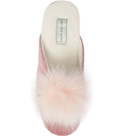 Patricia-Green-Slippers-Pouf