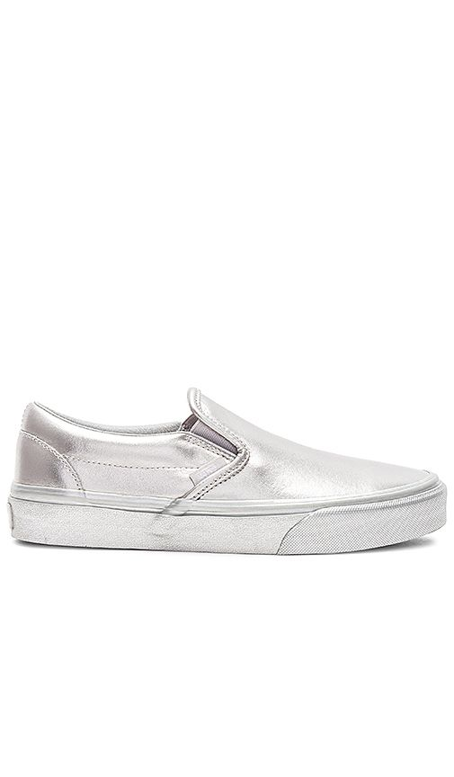 Vans-Metallic-Sidewall-Classic-Slip-On-Sneakers