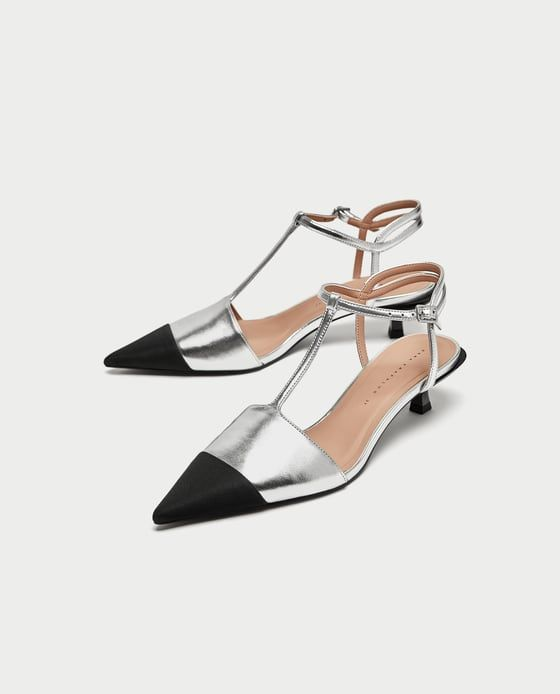 Zara-Metallic-Shoe-Pump