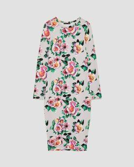 Zara-Sale-Floral-Dress