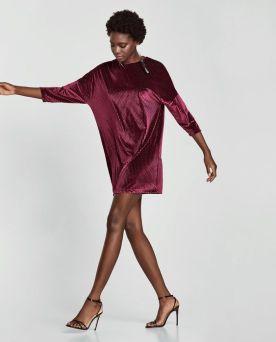 Zara-Sale-Velevet-Dress