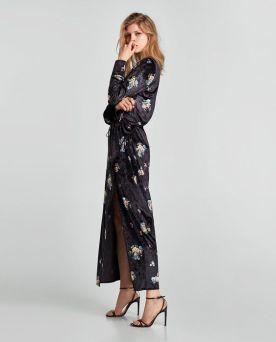 Zara-Sale-Velvet-Maxi-Dress-Floral