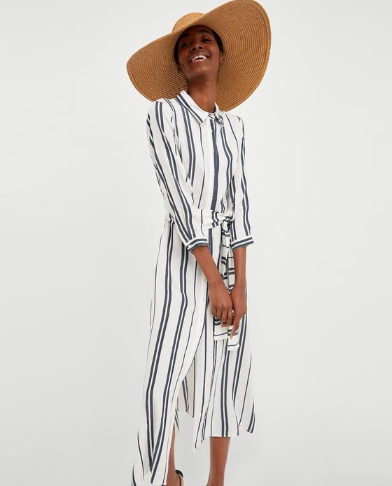 Zara-Striped-Tunic-Spring-Fashion